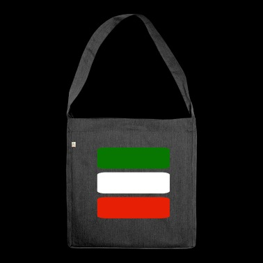 Italy fan football - Shoulder Bag made from recycled material