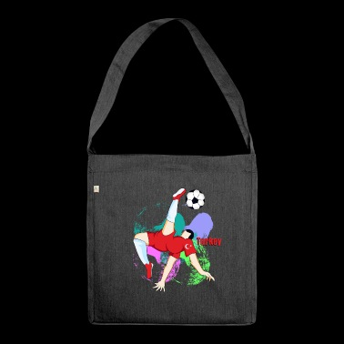 Turkish footballer - Shoulder Bag made from recycled material