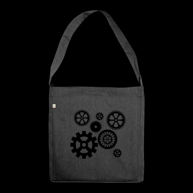 gears - Shoulder Bag made from recycled material