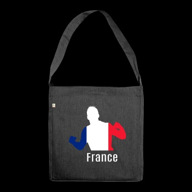 Soccer WC France WC Soccer - Shoulder Bag made from recycled material