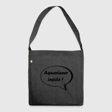 Aquarium inside! - Shoulder Bag made from recycled material