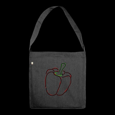 paprika - Shoulder Bag made from recycled material