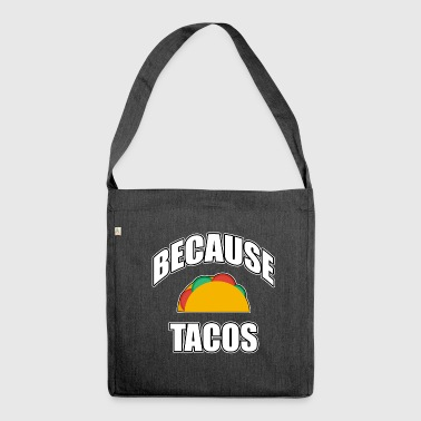 Taco, taco, taco - Shoulder Bag made from recycled material