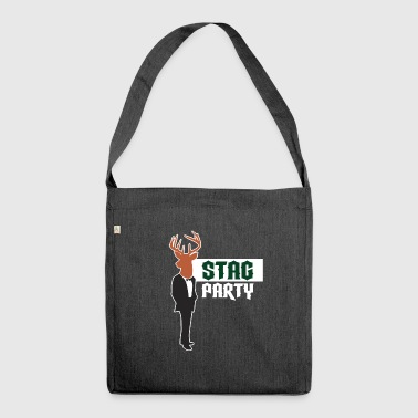 stag party - Shoulder Bag made from recycled material