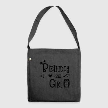 Birthday Girl - Girls - Girl - Girl - Child - Shoulder Bag made from recycled material