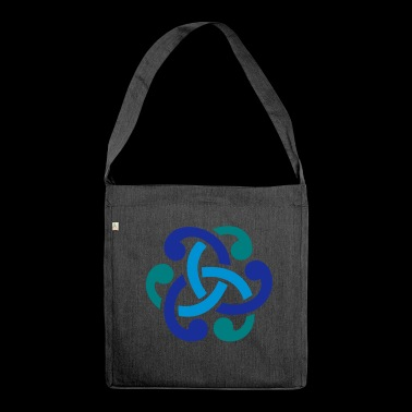 Celtic knot - Shoulder Bag made from recycled material