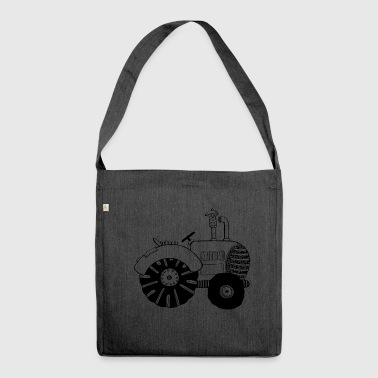 Chic tractor - tractors - tractor - Bulldog - Shoulder Bag made from recycled material