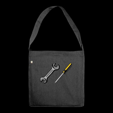Occupation / Job / Job / Tool - Shoulder Bag made from recycled material