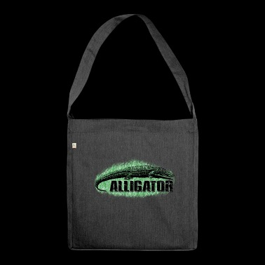 alligator - Shoulder Bag made from recycled material