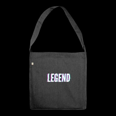 Legend / legend - Shoulder Bag made from recycled material