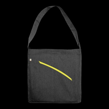 Dash yellow - Shoulder Bag made from recycled material
