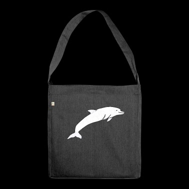 Dolphin Toddler Gift Idea - Shoulder Bag made from recycled material