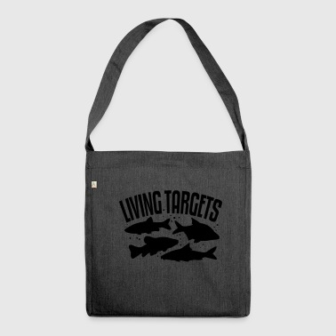 Living Targets - Schultertasche aus Recycling-Material