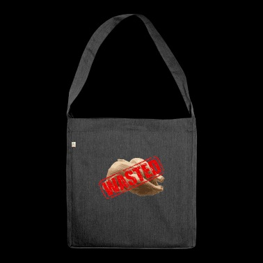Chicken waste - Shoulder Bag made from recycled material
