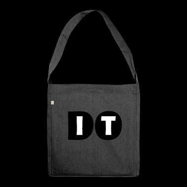 DO IT poster - Shoulder Bag made from recycled material