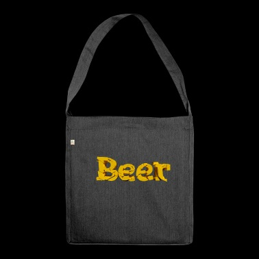 Beer font - Shoulder Bag made from recycled material