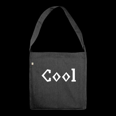Cool und Stylish - Schultertasche aus Recycling-Material