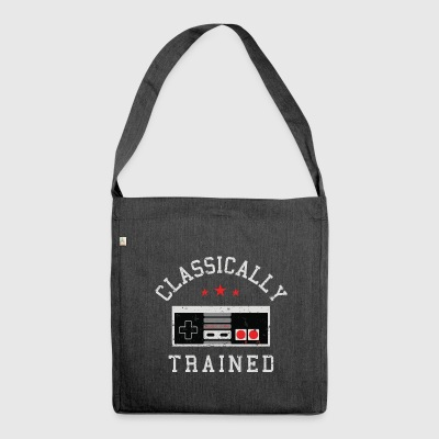 Gamer Shirt- Classically - Shoulder Bag made from recycled material