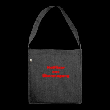 Netflixer by conviction - Shoulder Bag made from recycled material