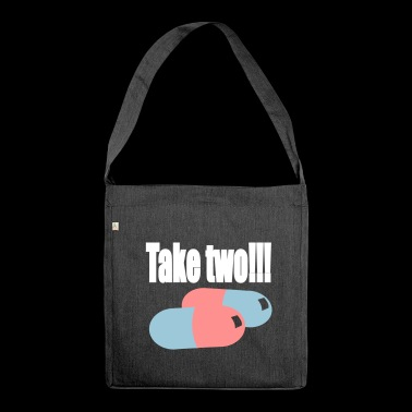 Take two - Schultertasche aus Recycling-Material
