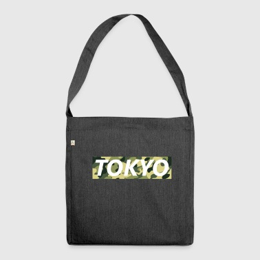 Tokyo Script - Shoulder Bag made from recycled material