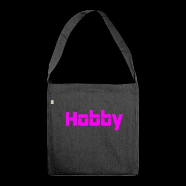 Hobby - Schultertasche aus Recycling-Material