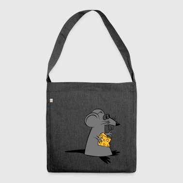 Ratte - Schultertasche aus Recycling-Material