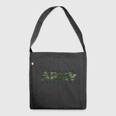 ARMY / Army / Bundeswehr / Camouflage - Schultertasche aus Recycling-Material