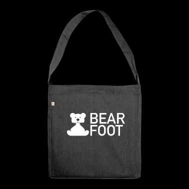 BEAR FOOT - Shoulder Bag made from recycled material