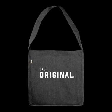 The original - Shoulder Bag made from recycled material