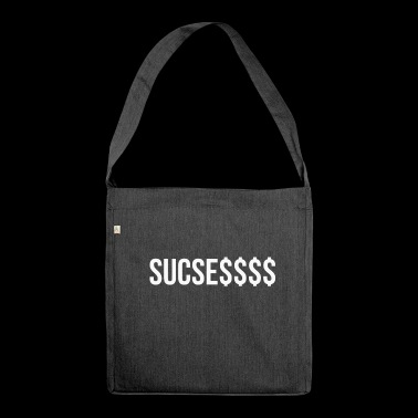 Sucess, provocative design - Shoulder Bag made from recycled material