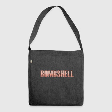 Bombshell Las Vegas Broadway lettering - Shoulder Bag made from recycled material