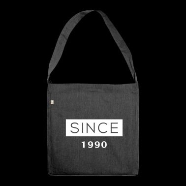 Since - 1990 - Schultertasche aus Recycling-Material