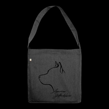 AMERICAN STAFFORDSHIRE profile Wilsigns - Shoulder Bag made from recycled material