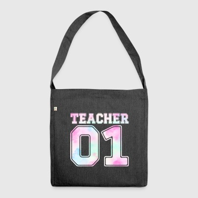 Teacher 01 - Shoulder Bag made from recycled material