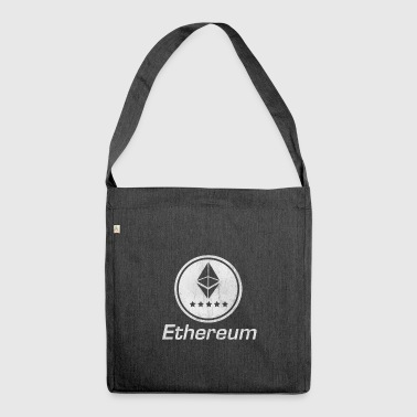 Ethereum cryptocurrency Bitcoin vintage logo money - Shoulder Bag made from recycled material