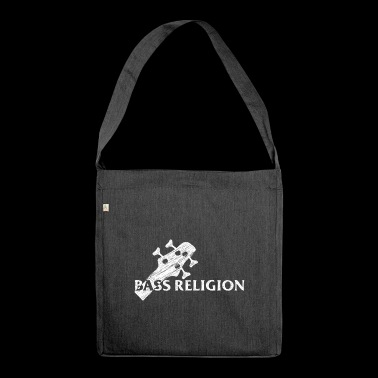 Bass Religion - Schultertasche aus Recycling-Material