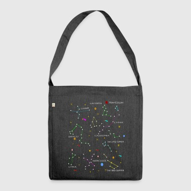 constellations - Shoulder Bag made from recycled material