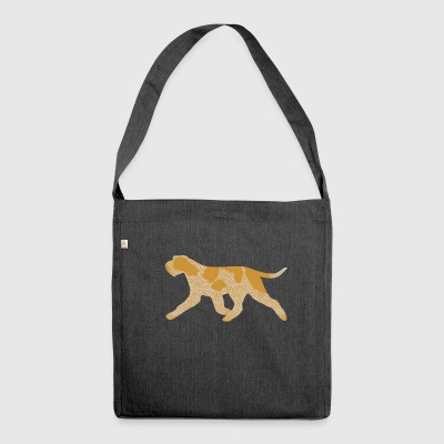 Spinone italien (rouan orange) Trot - Sac bandoulière 100 % recyclé