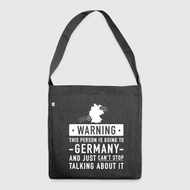 Original Germany holiday gift - Shoulder Bag made from recycled material