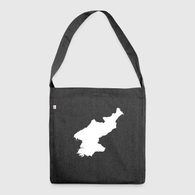 North Korea Original Gift Idea - Shoulder Bag made from recycled material