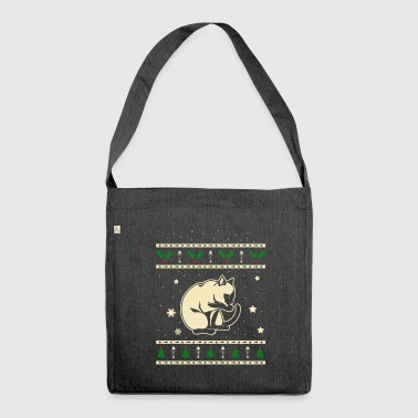 Traditional Siamese Christmas Gift - Shoulder Bag made from recycled material