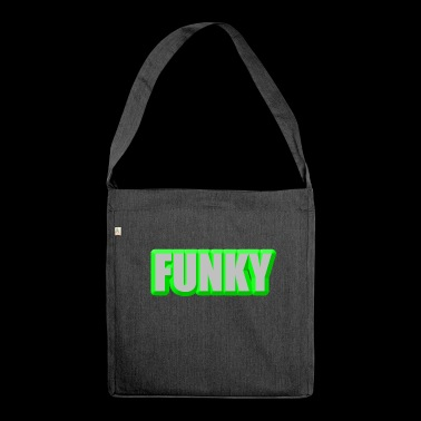 Funky - Schultertasche aus Recycling-Material