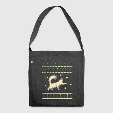 Turkish Angora Christmas Gift - Shoulder Bag made from recycled material