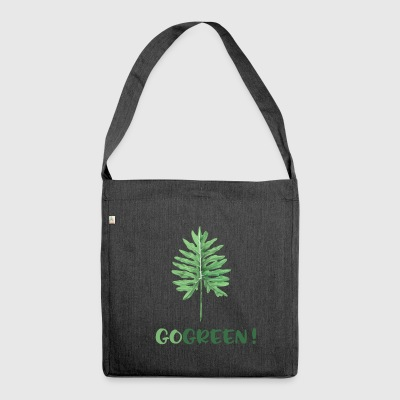 GO GREEN! - Shoulder Bag made from recycled material