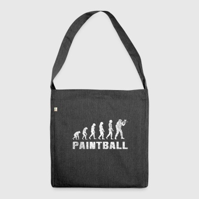 Evolution Paintball Shirt - Paintball T-Shirt - Schultertasche aus Recycling-Material