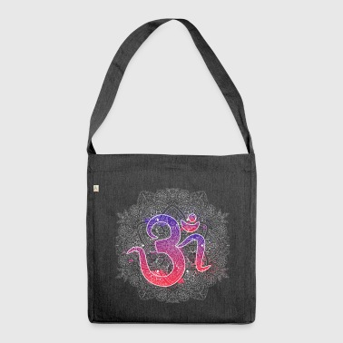 Om mit Mandala - Schultertasche aus Recycling-Material