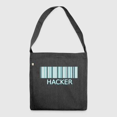 Barcode-Hacker T-Shirt - Borsa in materiale riciclato