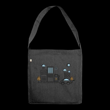 Eco - Shoulder Bag made from recycled material