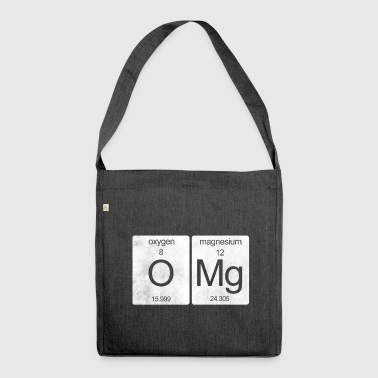 OMG periodic table - Shoulder Bag made from recycled material